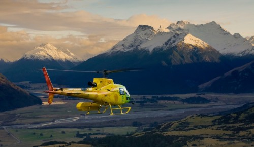 Heli Glenorchy Mt Earnslaw