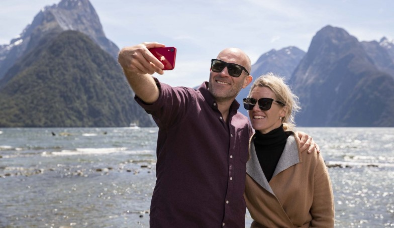 Capturing the iconic photo Milford Sound